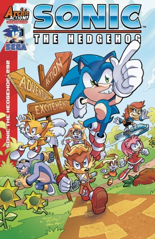 Sonic the Hedgehog #292 (Yardley Cover)