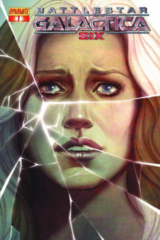 Battlestar Galactica: Six #1 (Frison Cover)
