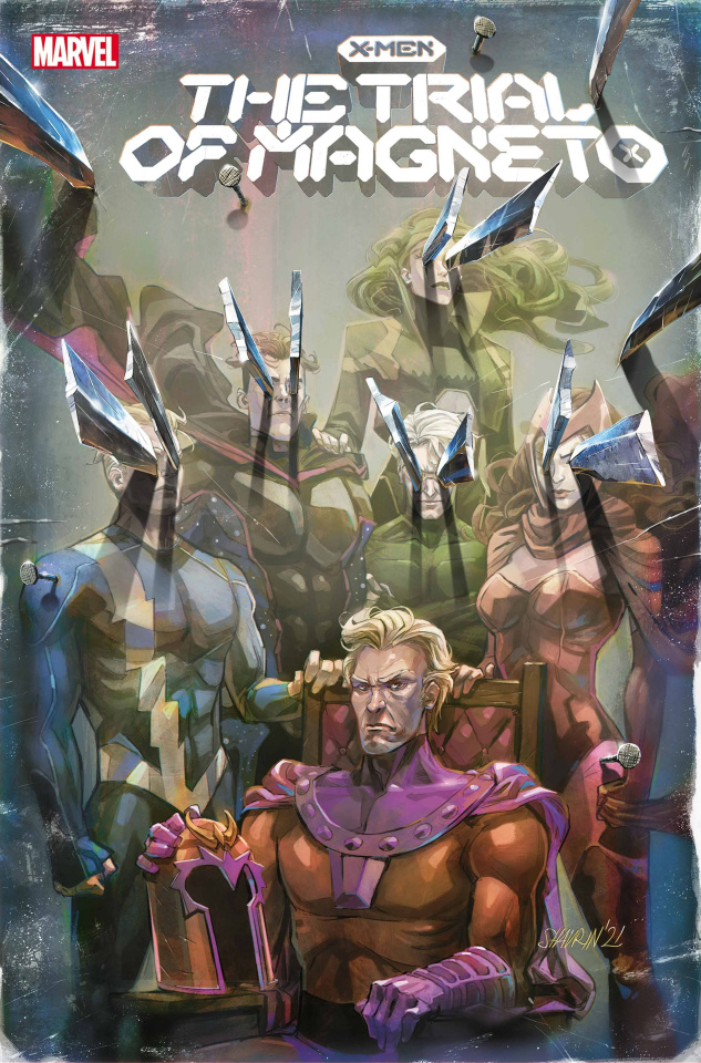 X-Men: The Trial of Magneto #2 (Shavrin Cover)