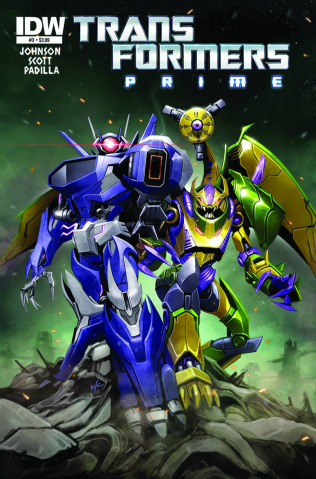 Transformers Prime: Rage of the Dinobots #3