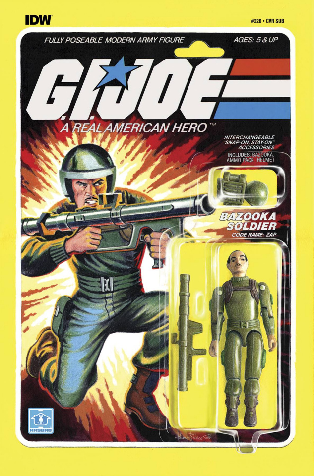 G.I. Joe: A Real American Hero #220 (Subscription Cover)