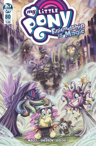 My Little Pony: Friendship Is Magic #80 (Richard Cover)