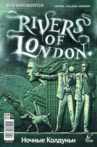 Rivers of London: The Night Witch #1 (McCaffrey Cover)
