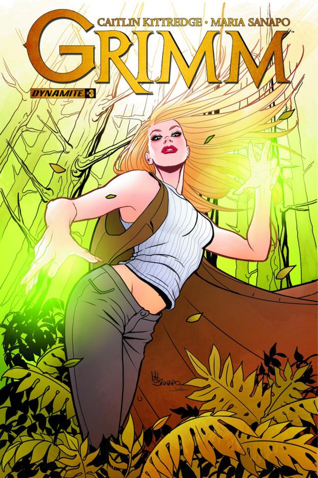 Grimm #3 (Sanapo Cover)