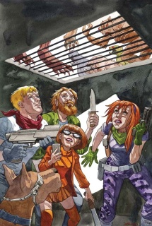 Scooby: Apocalypse #15 (Variant Cover)