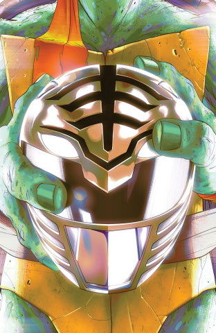 Power Rangers / Teenage Mutant Ninja Turtles #4 (Variant Cover)