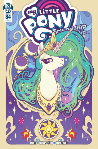 My Little Pony: Friendship Is Magic #84 (10 Copy Souvanny Cover)
