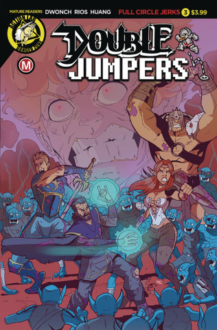 Double Jumpers: Full Circle Jerks #3 (Rios Cover)