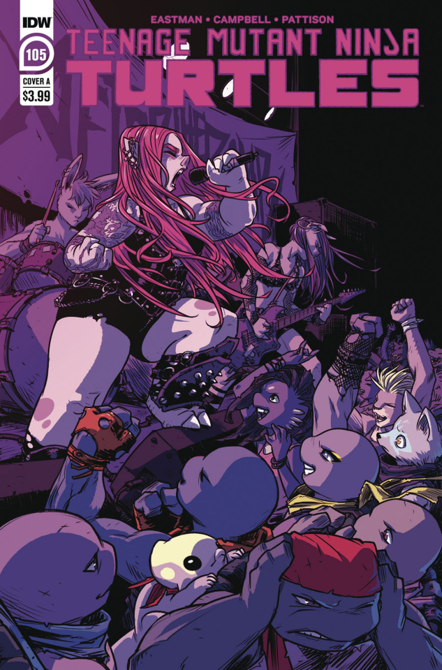 Teenage Mutant Ninja Turtles #105 (Campbell Cover)