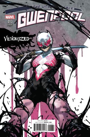Gwenpool #13 (Putri Venomized Cover)