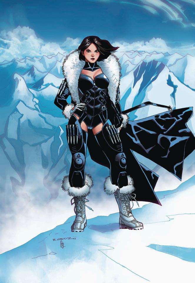 Grimm Fairy Tales: Van Helsing vs. The Werewolf #2 (Ortiz Cover)