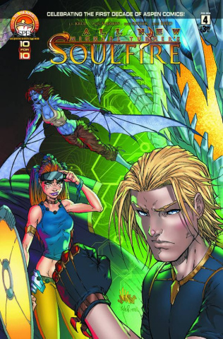 All New Soulfire #4 (Cover B)