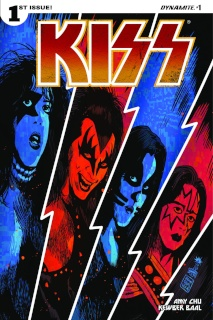 KISS #1 (Francavilla Cover)