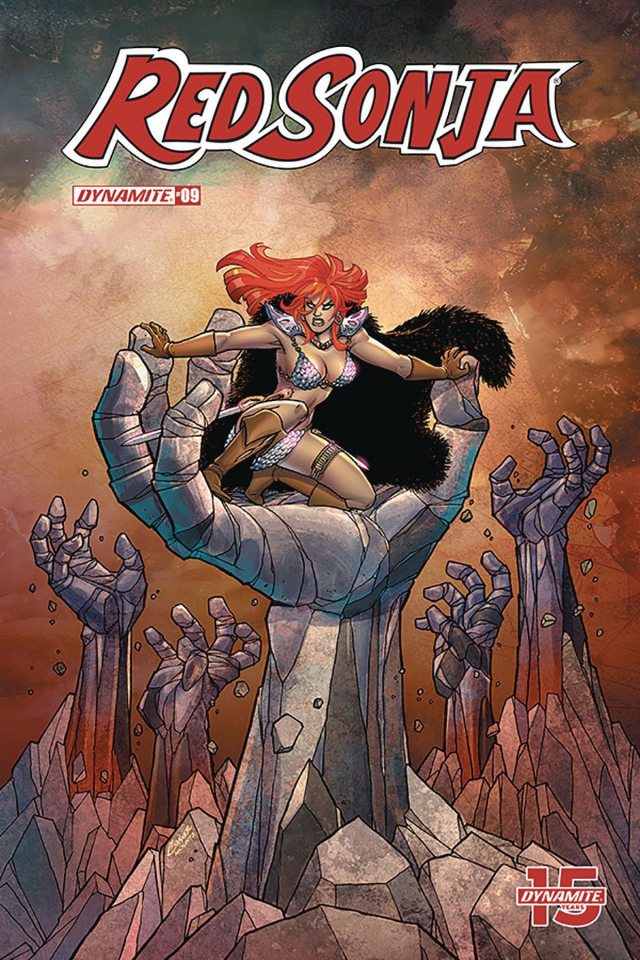 Red Sonja #9 (Conner Cover)