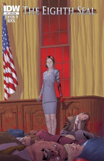 The Eighth Seal #2 (Subscription Cover)