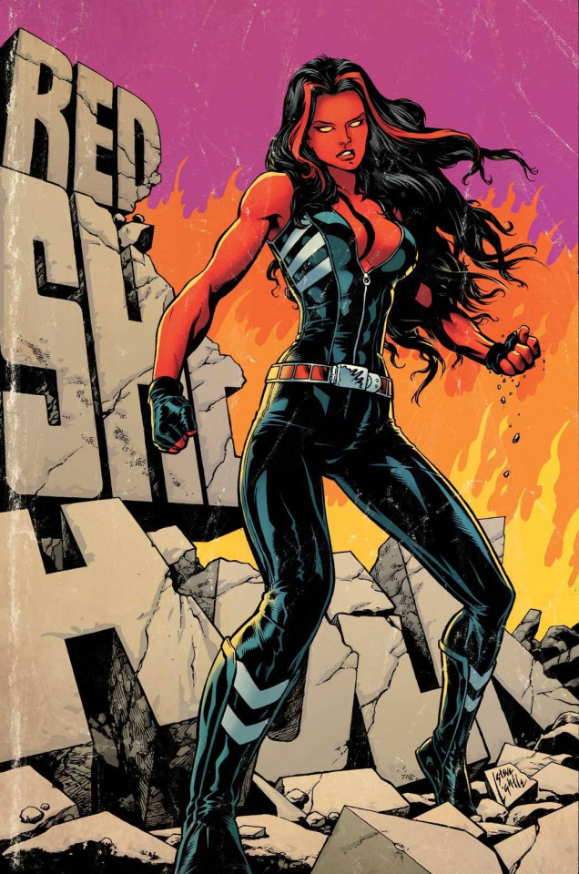 Red She-Hulk #62 (Lightle  Cover)