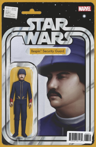 Star Wars #33 (Christopher Action Figure Cover)