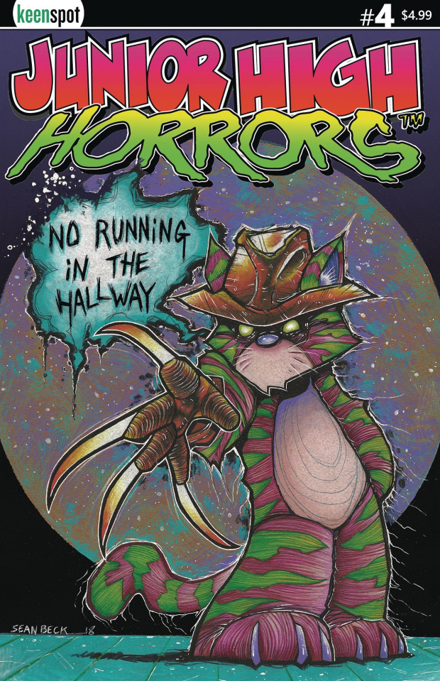 Junior High Horrors #4 (Frederick No Running Cover)