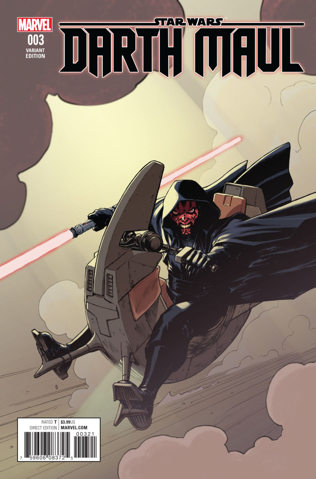 Star Wars: Darth Maul #3 (Lopez Cover)