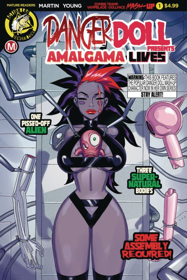 Danger Doll Squad Presents: Amalgama Lives #1 (Young Cover)