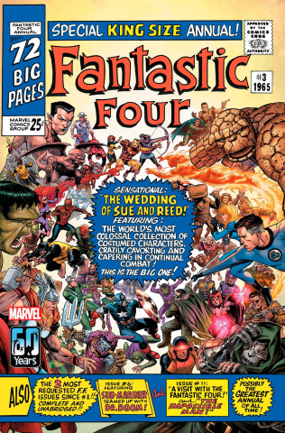 Fantastic Four Anniversary Tribute #1 (Cheung Cover)