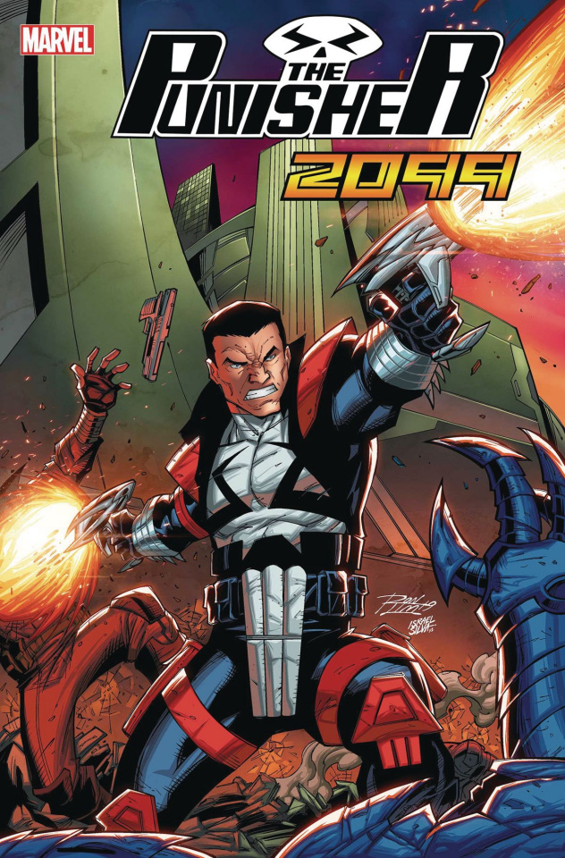 Punisher 2099 #1 (Ron Lim Cover)