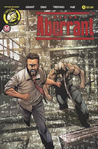 Aberrant #5 (Leon Dias Cover)