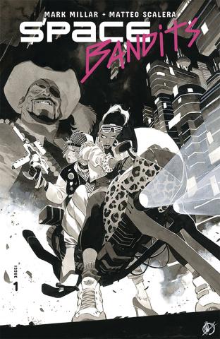 Space Bandits #1 (Scalera Cover)