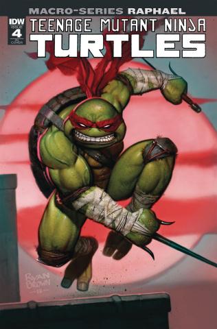 Teenage Mutant Ninja Turtles Macro-Series #4: Raphael (10 Copy Brown Cover)