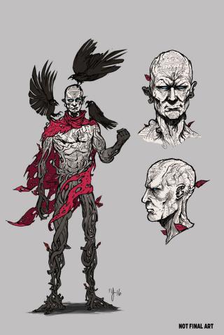 Ninjak #23 (10 Copy Character Design Cover)