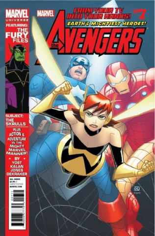 Marvel Universe Avengers #7