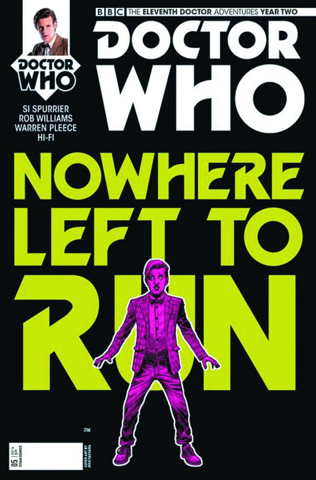 Doctor Who: New Adventures with the Eleventh Doctor, Year Two #5 (Cassara Cover)
