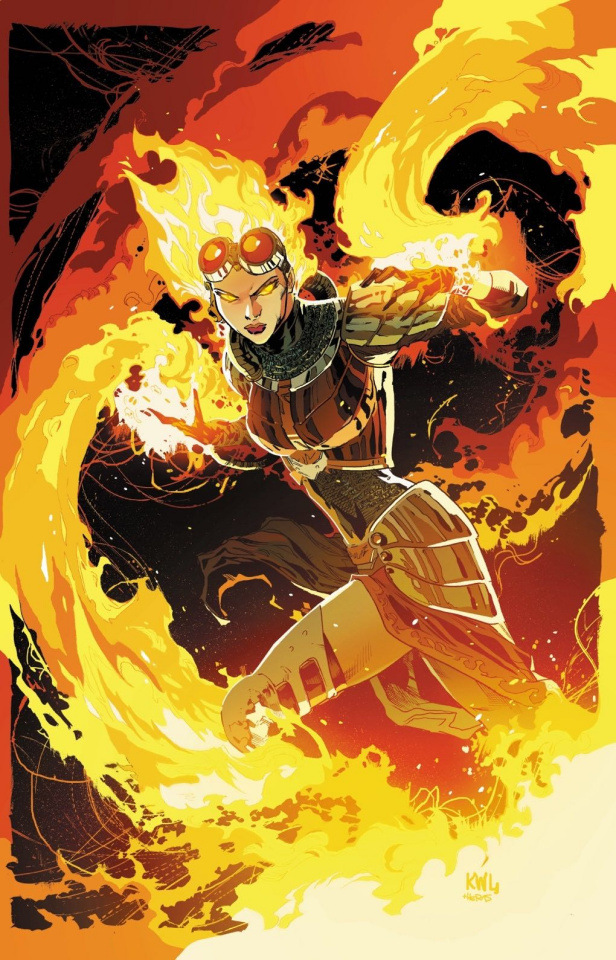 Magic the Gathering: Chandra #1 (Lashley Cover)