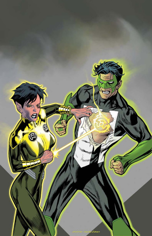 Hal Jordan and The Green Lantern Corps #24 (Variant Cover)