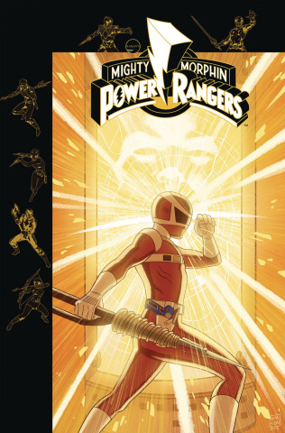 Mighty Morphin' Power Rangers #30 (Subscription Gibson Cover)