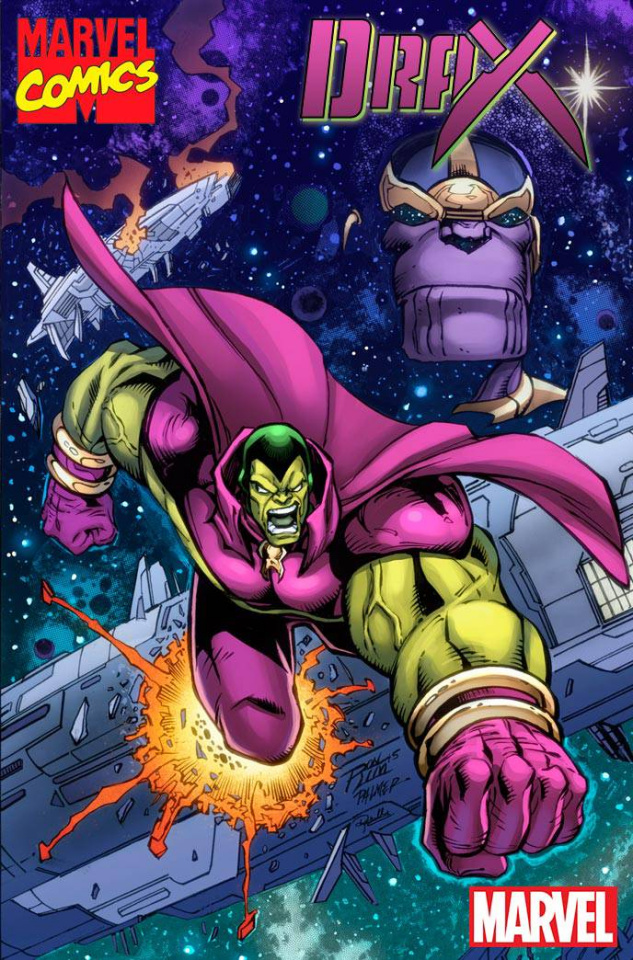 Drax #2 (Lim Marvel '92 Cover)