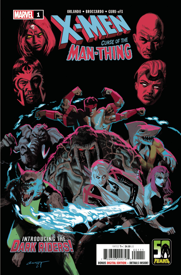 X-Men: Curse of the Man-Thing #1