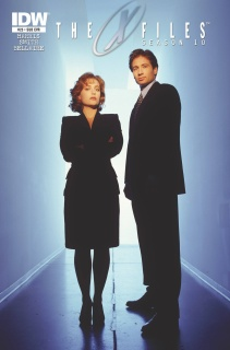 The X-Files, Season 10 #25 (Subscription Cover)