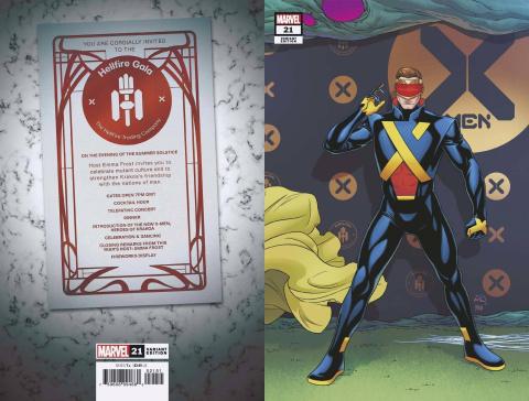 X-Men #21 (Dauterman Connecting Cover)