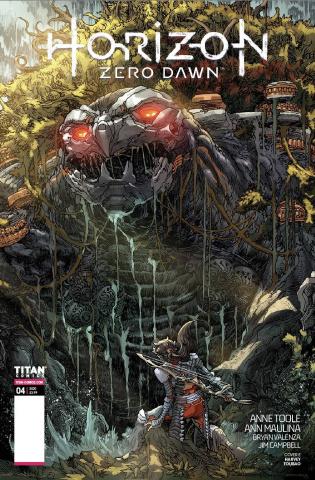 Horizon: Zero Dawn #4 (New Machine Cover)