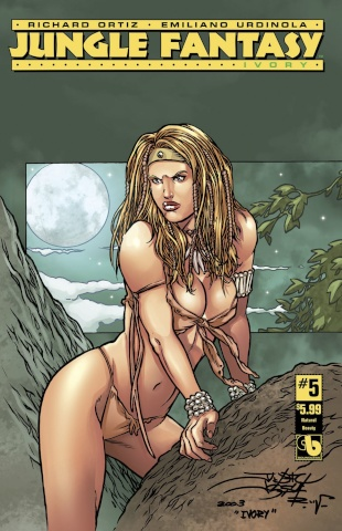 Jungle Fantasy: Ivory #5 (Natural Beauty Cover)
