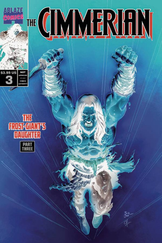 The Cimmerian: The Frost Giant's Daughter #3 30 (Copy Casas Negative Cover)