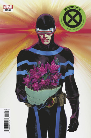 House of X #4 (Pichelli Flower Cover)