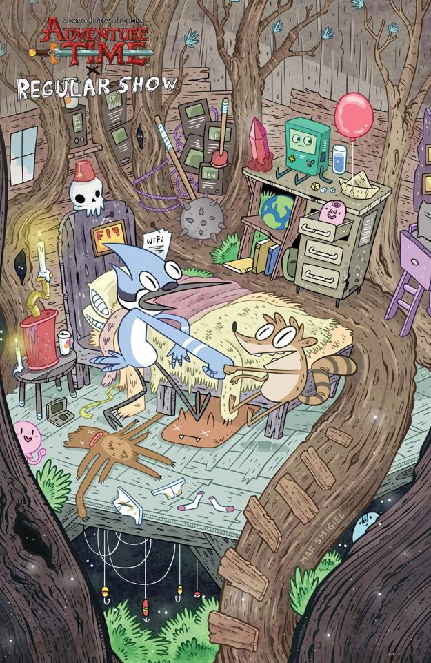 Adventure Time: Regular Show #6 (10 Copy Smigiel Cover)