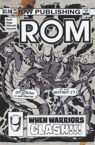 ROM #7 (Artist's Edition)