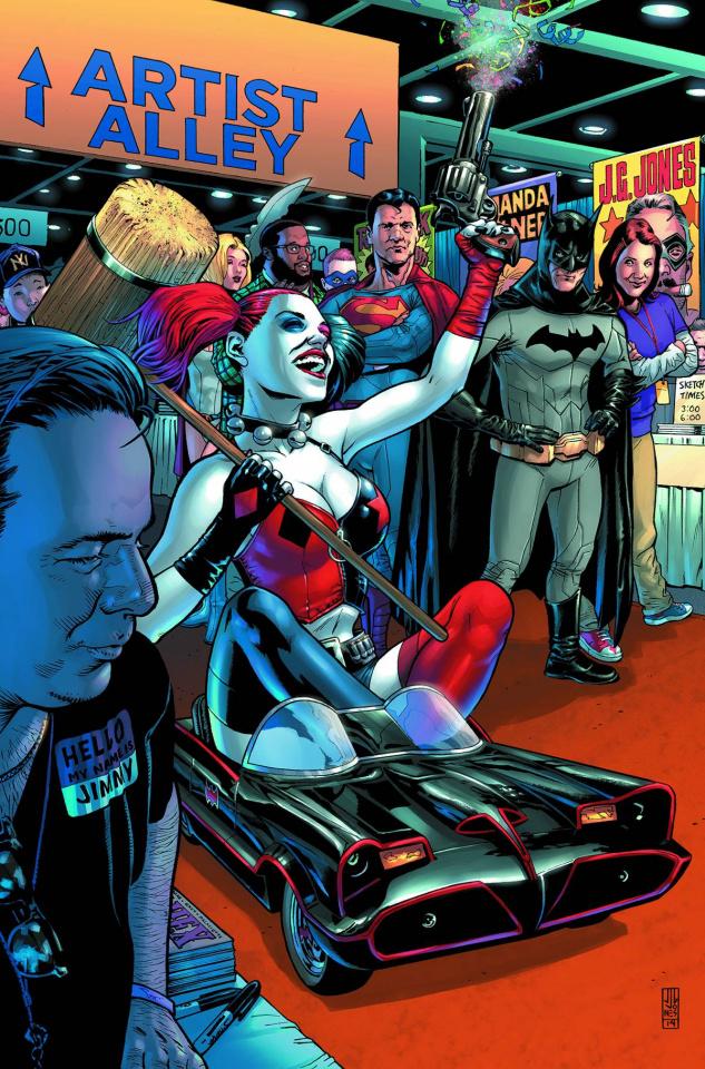 Batman / Superman #19 (Harley Quinn Cover)