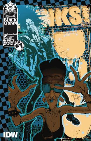 Punk's Not Dead #1 (10 Copy Cover)