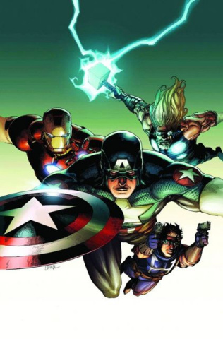 Ultimate Avengers vs. New Ultimates #2 (2nd Printing)