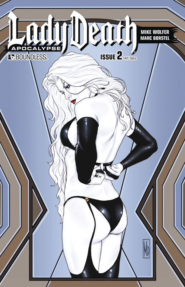 Lady Death: Apocalypse #2 (Art Deco Cover)