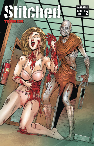 Stitched: Terror #2 (Gore Cover)